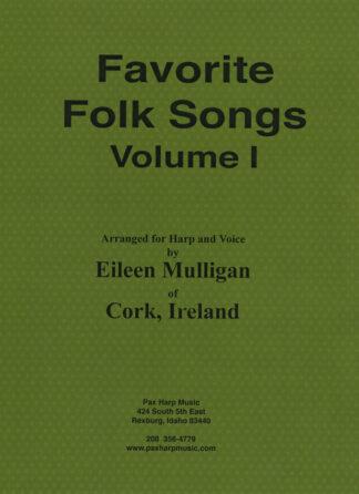 Favorite Folk Songs Volume I Cover