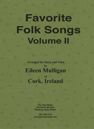 Favorite Folk Songs Volume II Cover