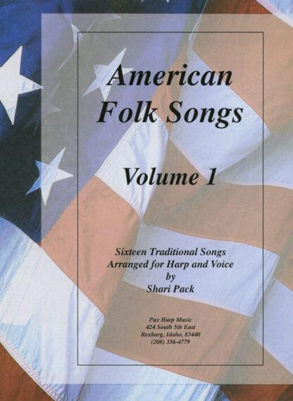 American Folk Songs Volume 1 Cover