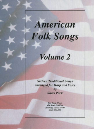 American Folk Songs Volume 2 Cover