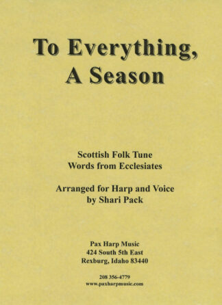 To Everything a Season Cover