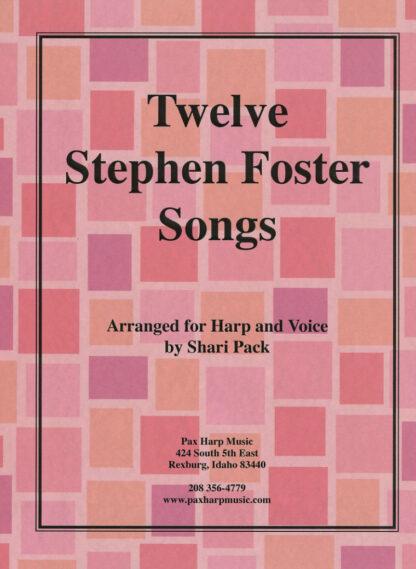 Twelve Stephen Foster Songs Cover