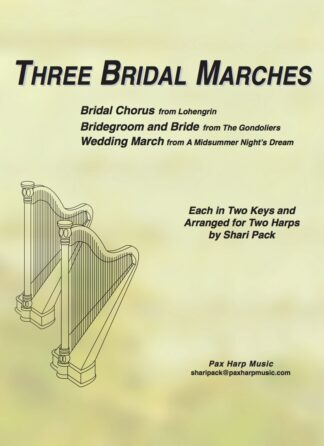 Three Bridal Marches Cover