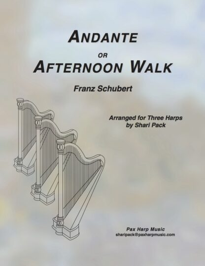 Andante or Afternoon Walk Cover