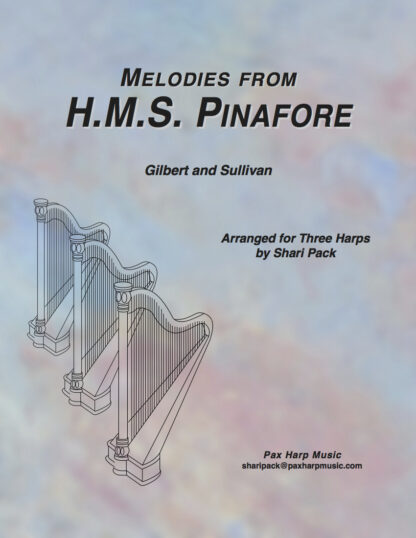 Melodies from H.M.S. Pinafore Cover