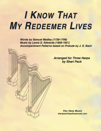 I Know That My Redeemer Lives Cover