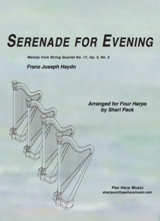 Serenade for Evening Cover