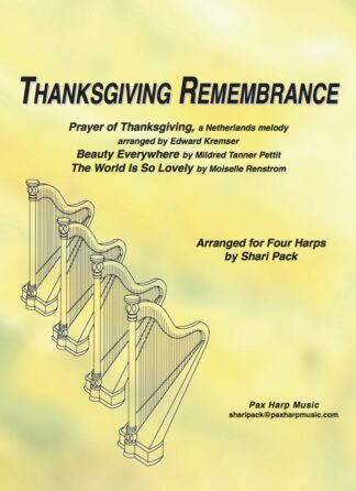 Thanksgiving Remembrance Cover