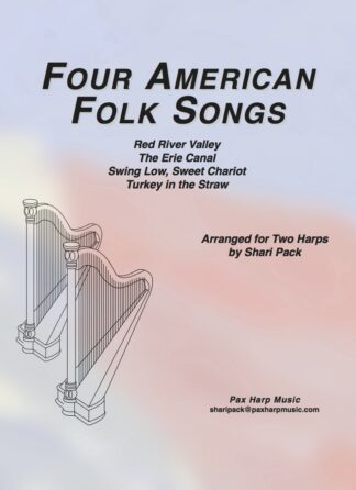 Four American Folk Songs - Cover