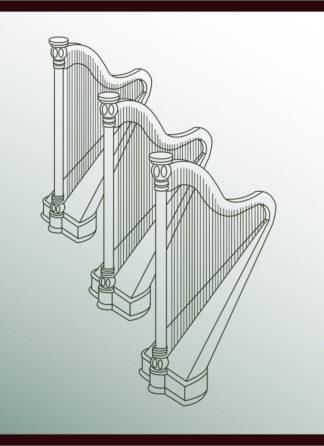 Three Harps Together